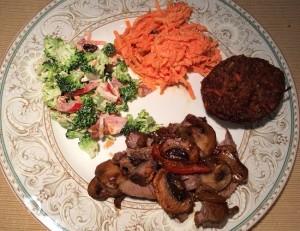 The Ten Carrot Plate