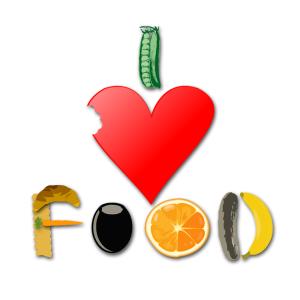 I love food